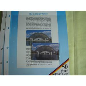 3 Cartele Telefonice 50 Jahre Deutschland - Exponate NOI / 7