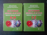 STEFANUTA ENACHE - DICTIONAR GENERAL DE STIINTE. ENGLEZ FRANCEZ ROMAN 2 volume
