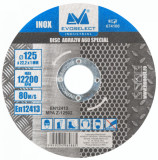 Cumpara ieftin Disc Abraziv ETP A60 Inox / D[mm]: 125; B[mm]: 1, Evotools