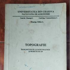 TOPOGRAFIE INDRUMATOR DE LUCRARI PRACTICE SI PROIECTE DE AN AGRONOMIE MUSTATA