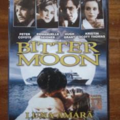 Luna amara - Bitter Moon, R. Polanski, P. Coyote, Hugh Grant, dupa P. Bruckner