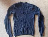 Cumpara ieftin Pulover cu anchior pentru fete 8-10 ani, bleumarin, lungime aprox 42 cm, ca nou