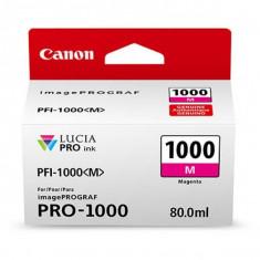 Cartus cerneala Canon PFI-1000M , magenta