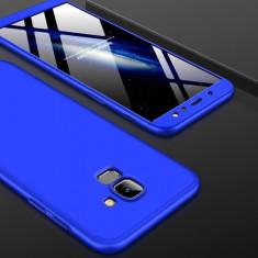 Husa Samsung Galaxy A8 2018 - GKK Protectie 360 Grade Albastra