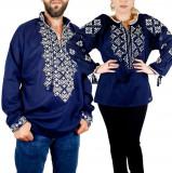 Cumpara ieftin Set Traditional Cuplu 105 Camasi traditionale cu broderie