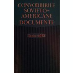 CONVORBIRILE SOVIETO - AMERICANE . DOCUMENTE . ( IUNIE 1973 ) - ***