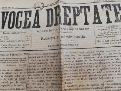 Ziare Vocea Dreptatei ,Aparatorul,anii 1882-1900 foto