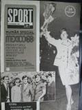 Revista Sport (1968), numar special Mexico 1968, Romania-Anglia 0-0