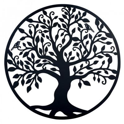 Decor perete, Copacul vietii, Arborele Vietii, 90x90 Model 1 foto
