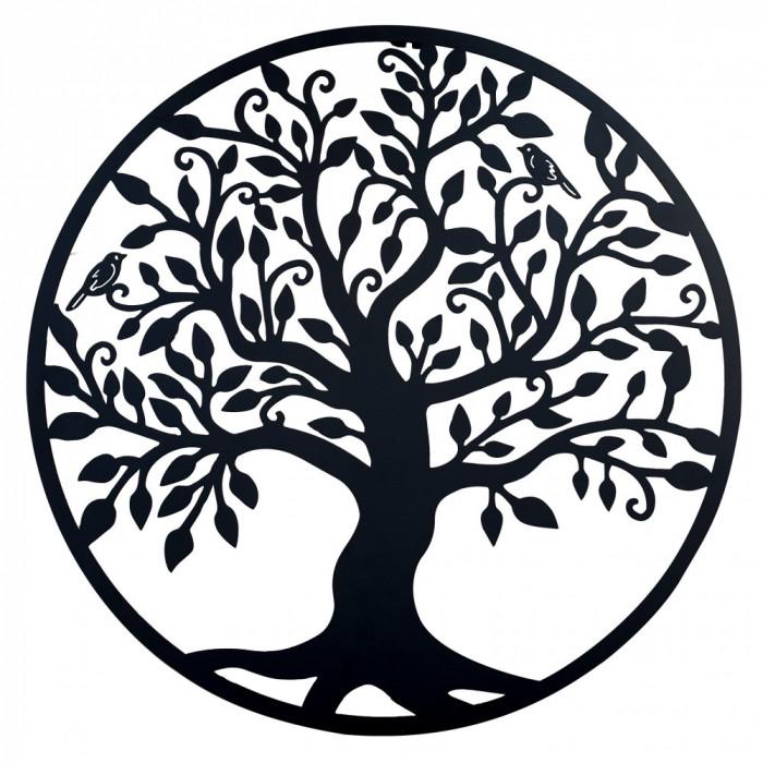 Decor perete, Copacul vietii, Arborele Vietii, 90x90 Model 1