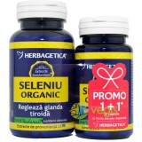 Seleniu Organic 60cps+30cps Pachet 1+1 Promo