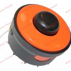 Mosor cu fir trimmer electrica (portocaliu) Ø 6mm
