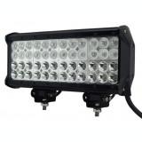LED Bar Auto cu 2 faze (faza scurta/faza lunga) 144W/12V-24V, 12240 Lumeni, lungime 30,5 cm, Leduri CREE PREMIUM