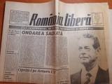Romania libera 30 aprilie 1992-vizita in tara dupa 45 de ani a regelui mihai