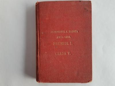 Eminescu, POEZII COMPLECTE, Iasi, (1893), Editura Saraga foto