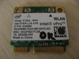 Placa wireless laptop Dell Precision M4400, Intel WiFi Link 5100, 512AN_HMW