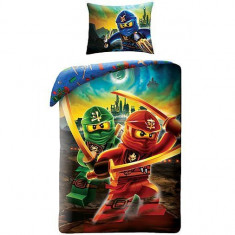 Lenjerie de pat Lego Ninjago Movie (LEG-613)
