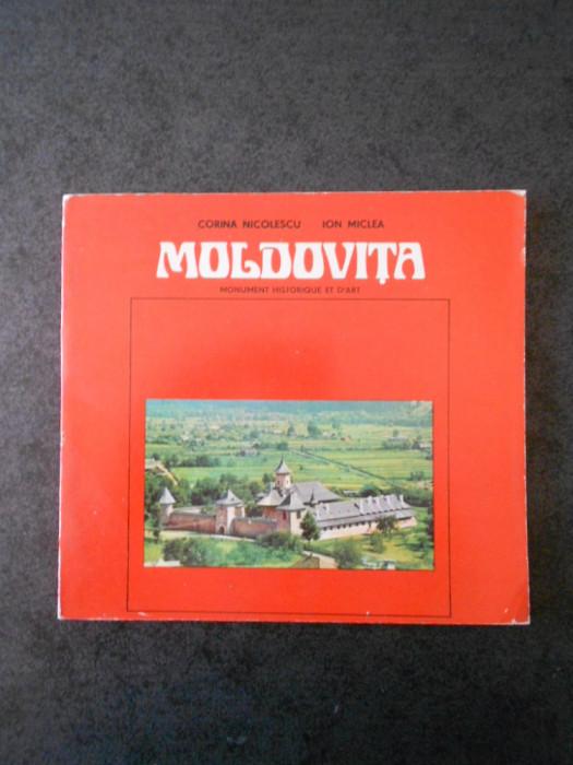 CORINA NICOLESCU, ION MICLEA - MOLDOVITA (limba franceza, ghid)