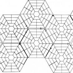 Set placi tip grilaj anti-pasari pentru iazuri, Gardigo, 1662945, 20 bucati