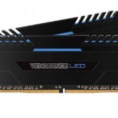 Memorii Corsair Vengeance LED Blue DDR4, 2x8GB, 3200 MHz