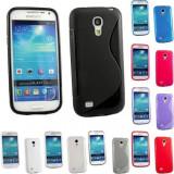 Husa Samsung Galaxy S4 Mini i9190 + folie + stylus, Gel TPU