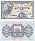 Gibraltar 10 Shillings 1934 (2018) Repriny Oficial UNC