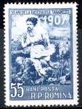 1957 LP426 serie 50 de ani de la rascoalele taranesti de la 1907 MNH, Istorie, Nestampilat