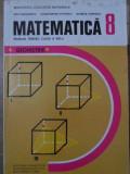 MATEMATICA GEOMETRIE MANUAL PENTRU CLASA A VIII-A - ION CUCULESCU, CONSTANTIN OT