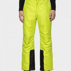 Pantaloni de schi pentru bărbați SPMN001 - verde iarbă