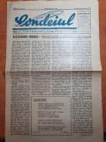 Ziarul condeiul iulie-august 1939- un an de la moartea reginei maria,m. eminescu