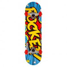 Skateboard Rocket Popart Mini Multi 7.50 inch