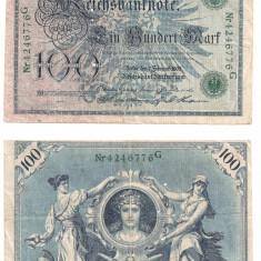 Bancnote 100 mark 1908 -Germania