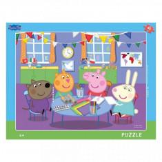 Puzzle cu rama Purcelusa Peppa (40 piese)