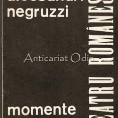 Alecsandri, Negruzzi - Intemeietori Ai Teatrului Romanesc