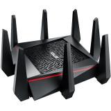 Router Wireless Asus RT-AC5300, 1xWAN Gigabit, 4xLAN Gigabit, 4xantene Externe AiRadar, Tri-band (5334,600Mbps), 1xUSB2.1, 3G,4G Sharing, Asus, AiProt