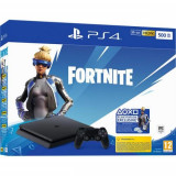 Consola SONY PlayStation 4 Slim (PS4 Slim) 500GB, Jet Black Fortnite Neo Versa Bundle