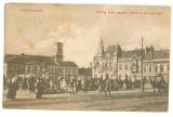 5091 - ORADEA, Market, Romania - old postcard - used - 1915