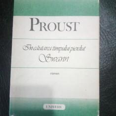 In cautarea timpului pierdut-Swann-Marcel Proust