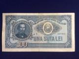 Bancnote România - 100 lei 1952 seria  a7-237463 (starea care se vede)