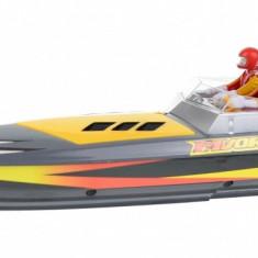 Barca de jucarie cu telecomanda si viteza de pana la 25km/h, Flytec HQ5011 Speedboat