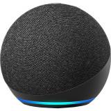 Boxa Portabila Echo Dot 4th Gen, Alexa, LED, Control Voce, Microfon, Negru