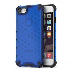 Cumpara ieftin Husa Apple iPhone 7iPhone 8iPhone SE 2020 iberry HoneyComb Albastru