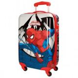 Troler ABS 55 cm 4 roti Spiderman Comic