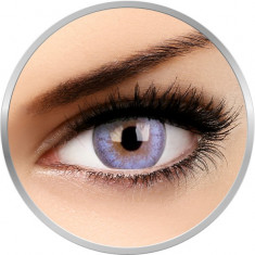 Cheerful Cloudy Blue - lentile de contact colorate albastre lunare - 30 purtari (2 lentile/cutie)