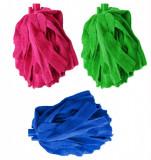 Rezerva Mop din Microfibra 140g, Lungime 31cm, Culoare Verde