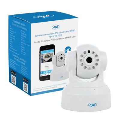 Resigilat : Camera supraveghere PNI SmartHome SM460 pan & tilt 720p controlabila p foto