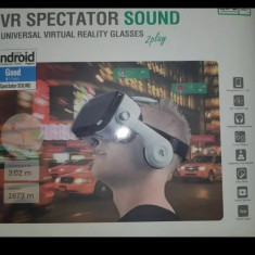 Ochelari VR Universali 4smarts Spectator SOUND Alb