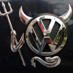 Sticker Decorare Logo Emblema Auto Little Devil TUNING IEFTIN