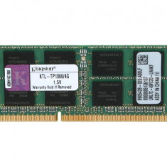 Memorii Laptop Kingston 4GB DDR3 PC3-8500S 1066Mhz