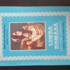 Limba romana lecturi literare manual pentru clasa a VIII-a - Dumitru Savulescu, Clasa 8